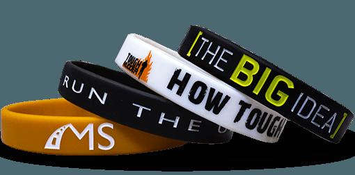 cheap rubber wristbands