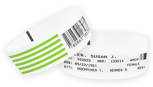 Direct Thermal Wristbands