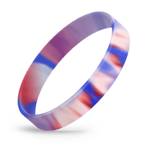 Red / White / Blue Swirl