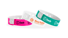Custom Narrow Vinyl Wristbands