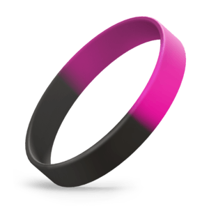 Black / Hot Pink Segmented