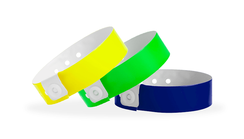 Narrow Vinyl Wristbands