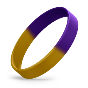 Yellow Gold / Purple Segmented