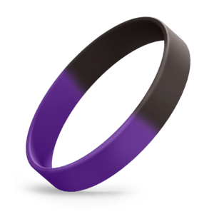Black / Purple Segmented