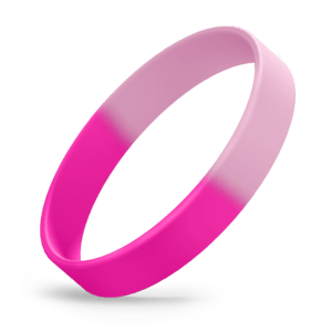 Hot Pink / Light Pink Segmented