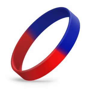 Red / Blue Segmented