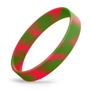 Red / Green Swirl
