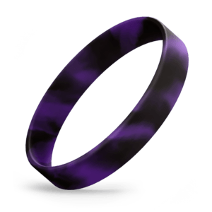 Black / Purple Swirl