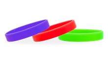 Solid Silicone Wristbands