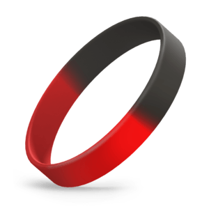 Red / Black Segmented