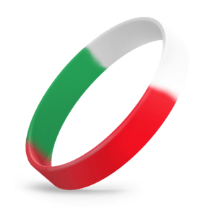 Red / White / Green Segmented