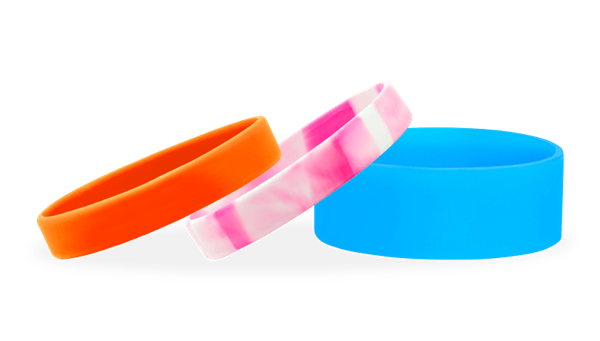Ready-Made Silicone Wristbands