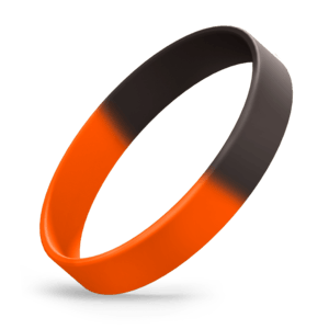 Black / Orange Segmented