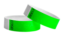 Tyvek wristbands Duplicate Number