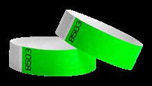 Tyvek wristbands Duplicate Number