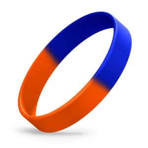 Orange / Blue Segmented
