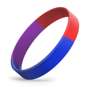 Blue / Purple / Red Segmented