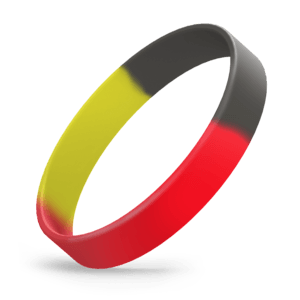 Red / Black / Yellow Segmented
