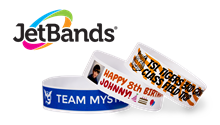 JetBands-Do It Yourself Inkjet Printable Tyvek® Wristbands