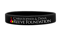 Christopher & Dana Reeve Silicone Wristband thumbnail