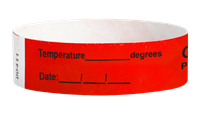 COVID19 - Temperature & Date (Neon Red) thumbnail