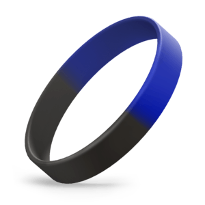 Black / Reflex Blue Segmented