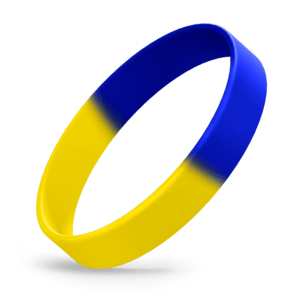 Yellow / Blue Segmented