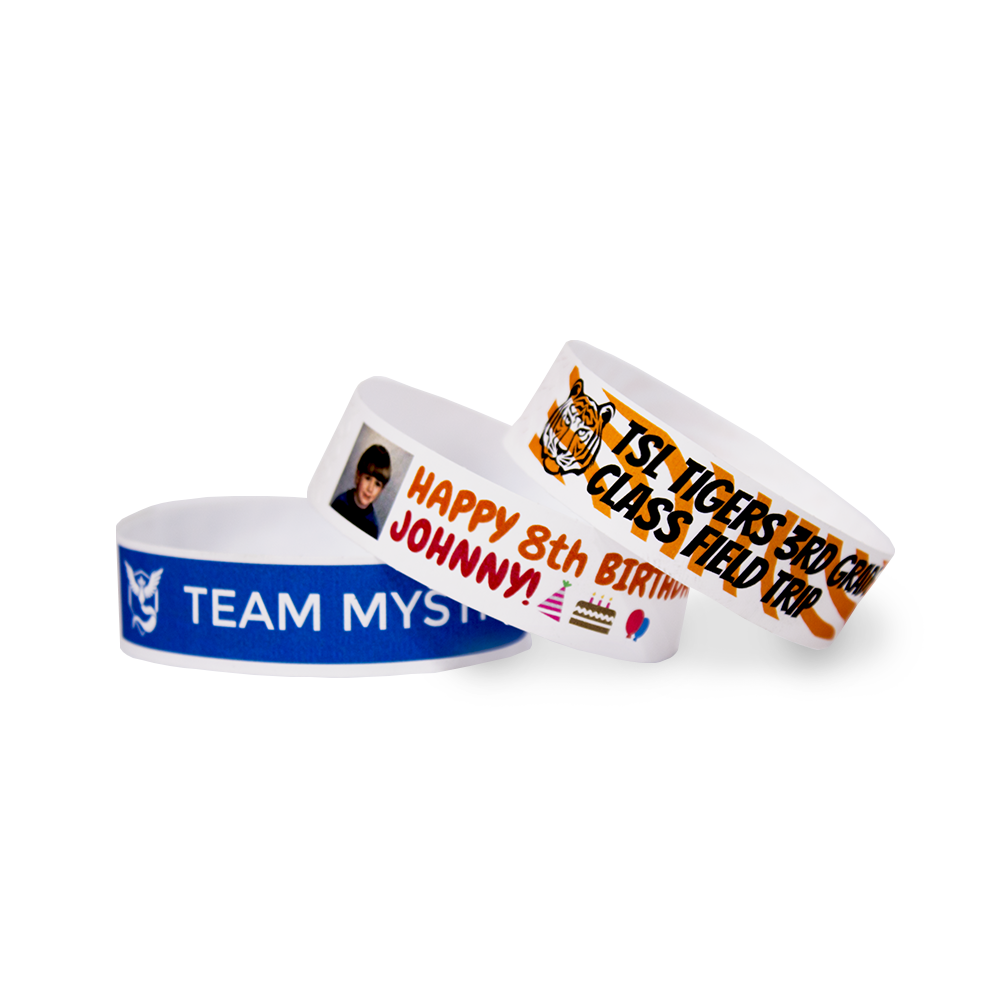 image regarding Printable Wristbands named JetBands-Do It By yourself Inkjet Printable Tyvek® Wristbands - 100 Depend