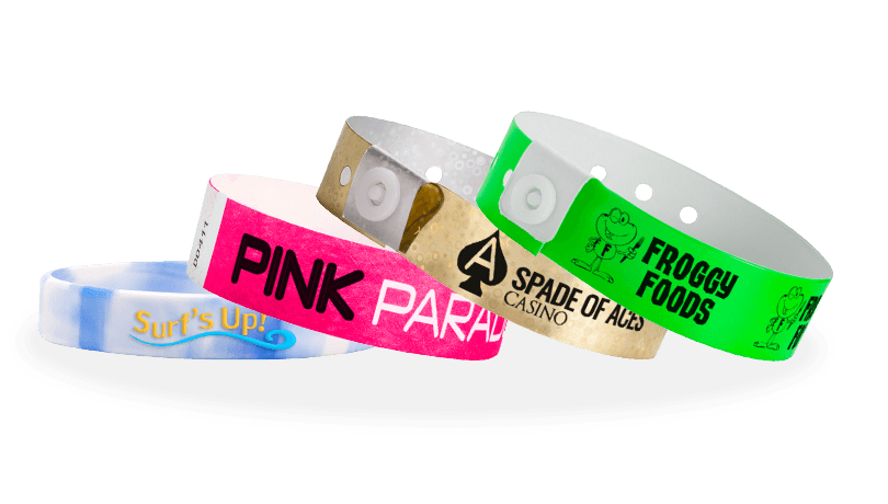 photograph relating to Printable Wristbands for Events identify Invest in Custom made Wristbands within a Range of Hues and Types