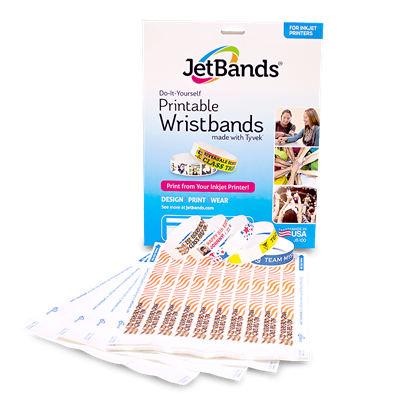 JetBands® Printable Tyvek® 3/4""