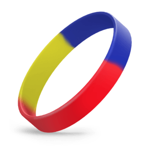 Red / Blue / Yellow Segmented