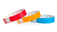 Regular Plastic Wristbands Solids