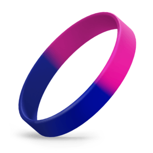 Blue / Hot Pink Segmented