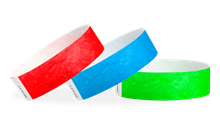 "3/4"" Tyvek® Wristbands Solids"