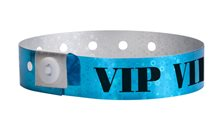 Plastic Holographic VIP Bands