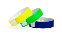 Narrow Plastic Wristbands