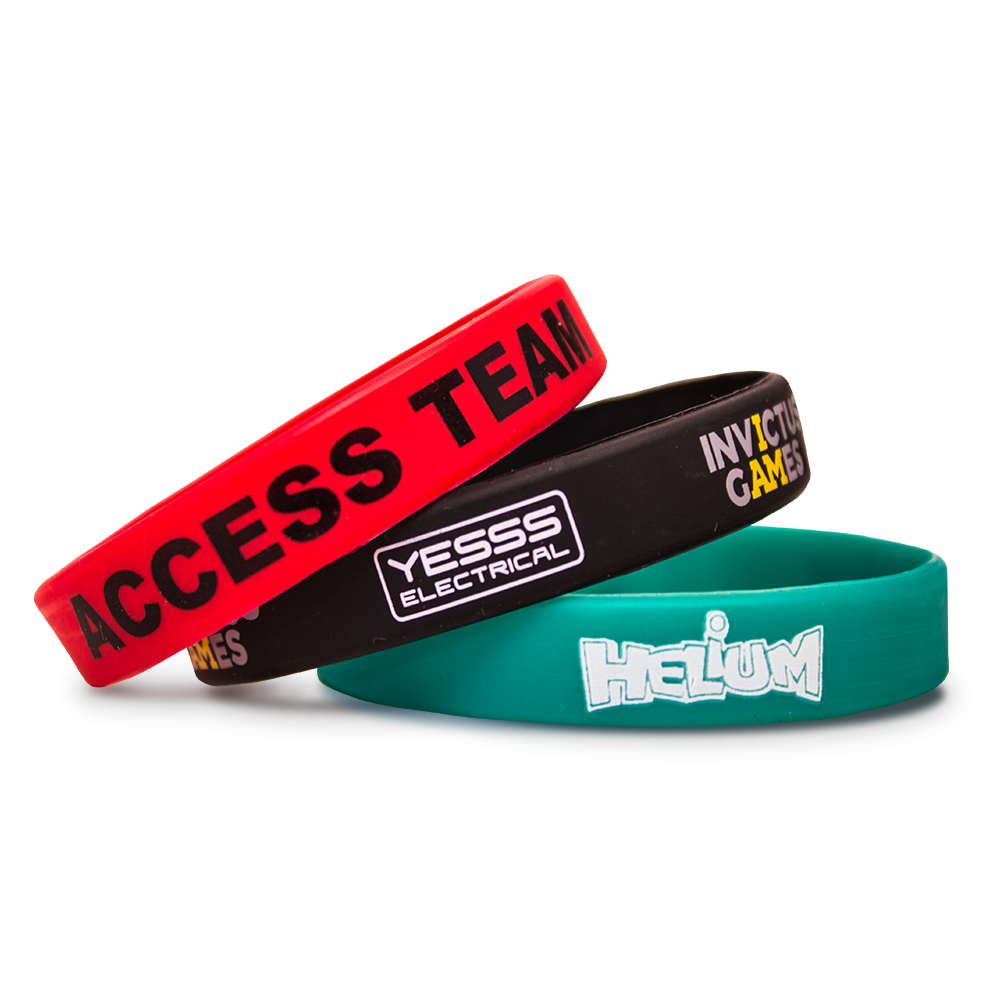 Customize Your Silicone And Rubber Wristbands