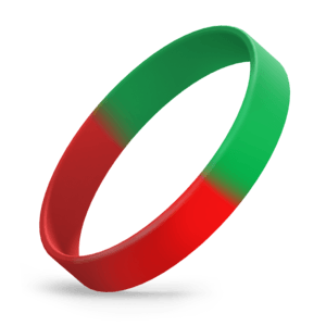 Red / Green Segmented